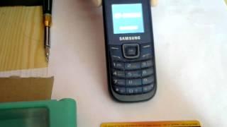 Samsung GT-E1200M Не запускается(Samsung GT-E1200M Не запускается, кто что может подсказать? А здесь вы сможете купить НЕДОРОГО запчасти к мобильным..., 2014-11-03T17:46:16.000Z)