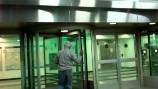 Government Recruited Homeless GangStalker At LaGuardia Airport LGA