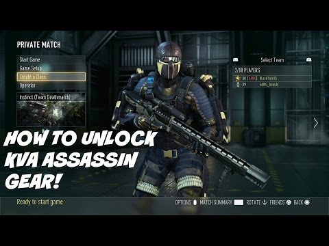 How to Unlock KVA Assassin Gear in CoD:AW!