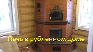 видео Дровяной камин на даче как воплощение мечты