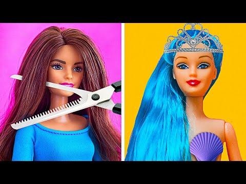 HOW TO MAKE YOUR BARBIE A REAL QUEEN