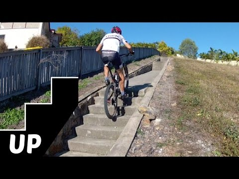 How to Ride Up Stairs on a Mountain Bike: The 4 Key Tips