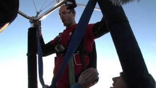 Rekordinis šuolis su guma iš oro baliono 2,3 km aukštyje