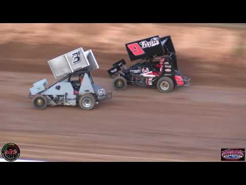Placerville Speedway July 27th, 2019 BCRA Midget Lite Main Event Highlights