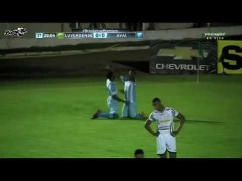 Gols:Luverdense 1x1 Avai 24/05/16(brasileirao serie b)