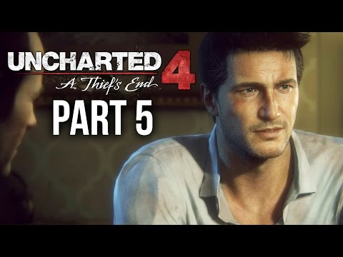 Uncharted 4 Gameplay Walkthrough Part 5 - LIGHTS OUT (Chapter 7)