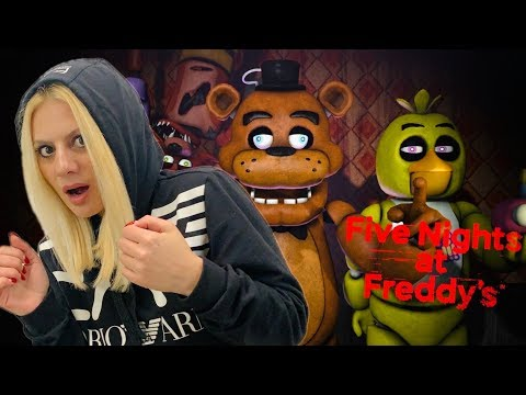 ΠΟΣΕΣ ΝΥΧΤΕΣ ΘΑ ΠΕΡΑΣΩ? Five Nights at Freddy's Lets's Play Kristina