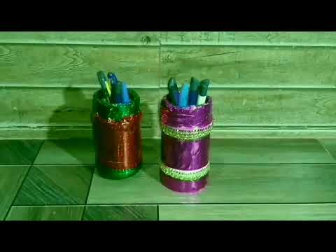 2 types of flower pot + pen stand /by soni,sony 2August2019