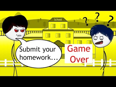 When a Gamer gets Homework