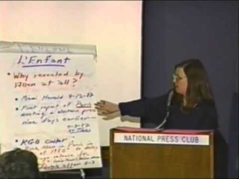 October Surprise Press Conference - Barbara Honegger - 1992