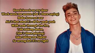 Now United- Crazy Stupid Silly Love (Lyrics) {HeyLyrics}