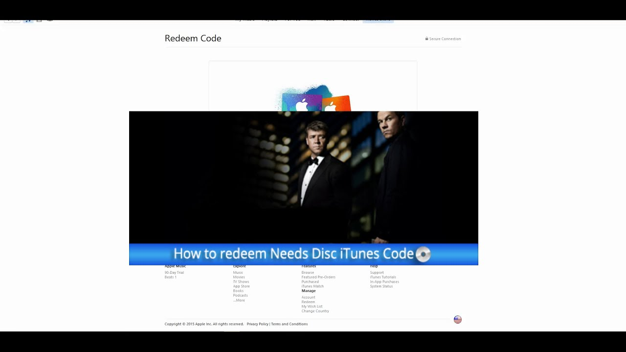 How to redeem a Needs Disc iTunes Code with the XML workaround