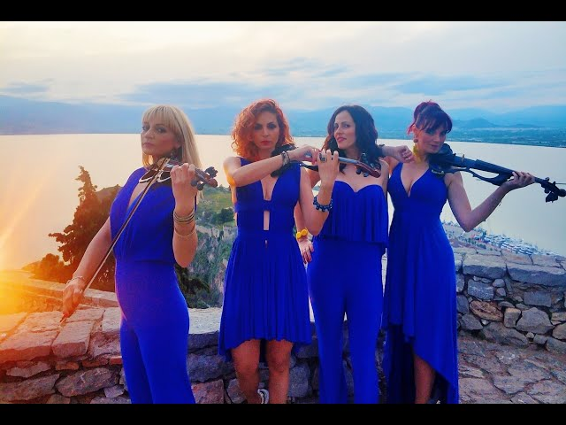 Zorbas Fortissimo Electric String Quartet Performance  ΥΑΚΙΝΘΕΙΑ 2017