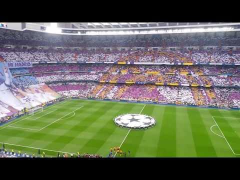 Real Madrid-Juventus • UEFA Champions League (himno/anthem) • Estadio Santiago Bernabéu