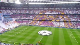 Real Madrid-Juventus • UEFA Champions League (himno/anthem) • Estadio Santiago Bernabéu
