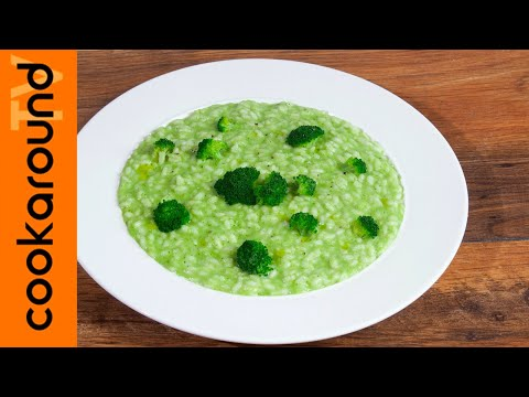 Easy Broccoli-Green spinach Risotto