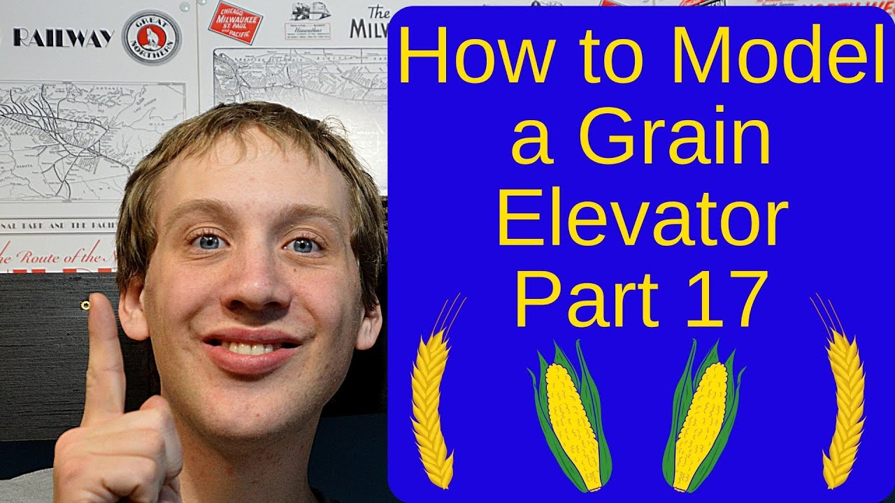 How to Kitbash a Grain Elevator Part 17 The Finish