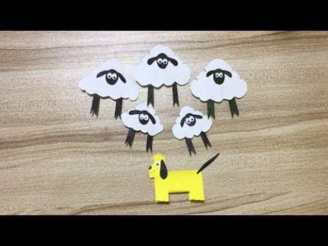 Shaun the Sheep Paper Crafts