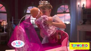 Toyworld Nz - Baby Born Interactive Princess Bed