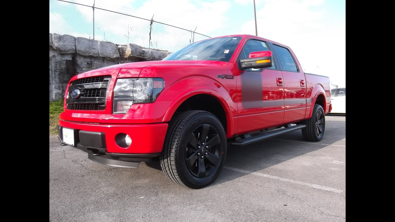 2013 ford f 150 fx4 appearance package 5 0 v 8 race red at ford of murfreesboro 888 439 1265 [ 1280 x 720 Pixel ]