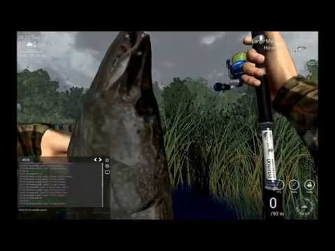 Fishing Planet Michigan Cloudy and Rain Partly Cloudy uniques V0.5.6