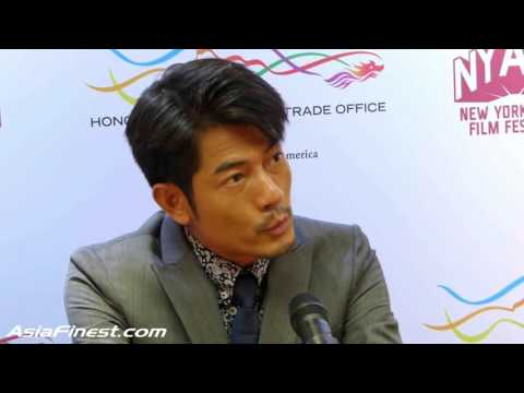 Aaron Kwok Talks About Being a Real Actor in English at HKETO Press Conference 2015