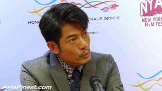 [7.07 MB] Aaron Kwok Talks About Being a Real Actor in English at HKETO Press Conference 2015