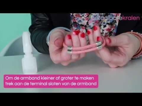 Sieraden maken: Hoe maak je een armband met een Terminal slot? ♡ DIY