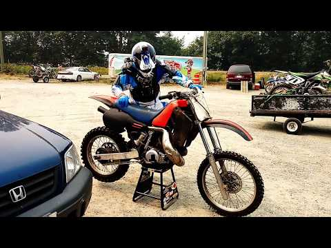 Honda CR500 YOU ONLY DIE ONCE!!!