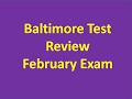 Brief Biochem review for Baltimore Cohort
