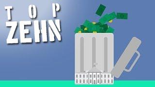 10 Wege, wie Regierungen unser Geld verpulvern!
