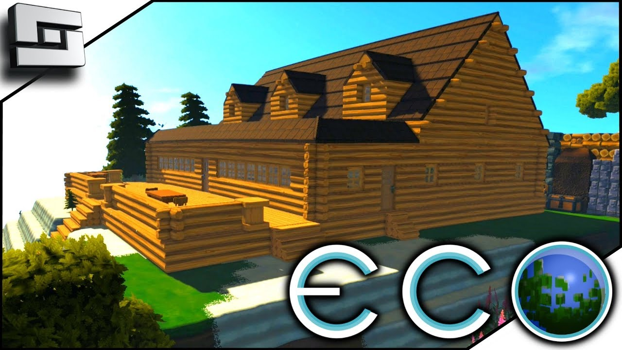 Sun Room House Addition! ECO Gameplay – Survival Building Game