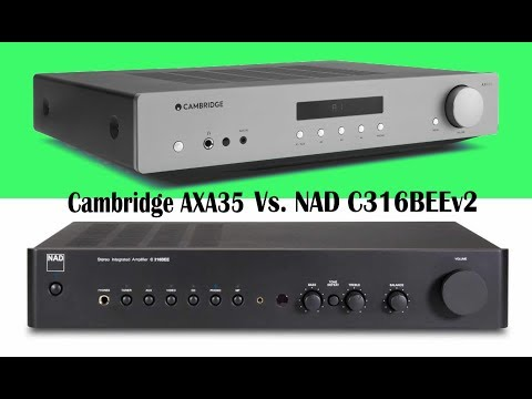 Review: Cambridge Audio AXA35 stereo integrated amp