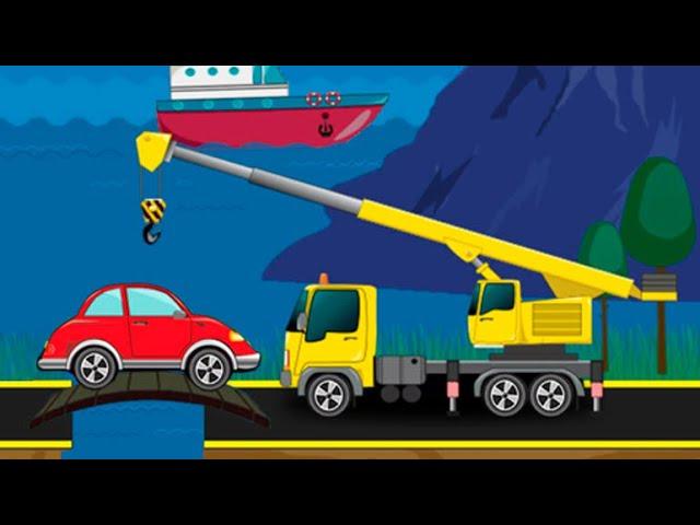Мультфильмы про машинки для детей - Ситуация на дороге! Мультик пазл для малышей.