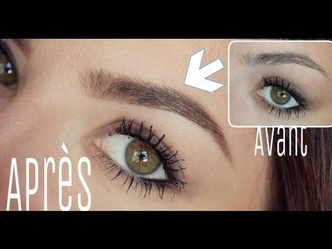 mes sourcils avec le brow zing de benefit - Coloration Sourcils Sephora