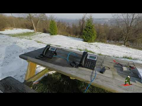 Amateur Radio Field Phone Concept - VOIP