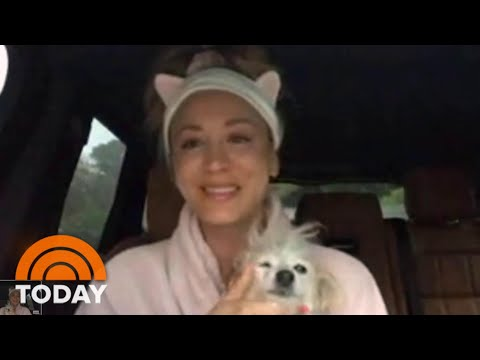 Kaley Cuoco Video Chats On The 3rd Hour — From Her Car!   TODAY
