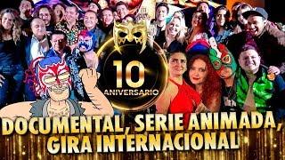 Fiesta 10años del dios del internet, invitados, sorpresas y más. Tus momentos favoritos de escorpión