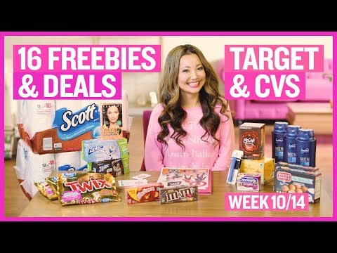 ★ 9 FREEBIES - Target & CVS Coupon DEALS (Week 10/14 – 10/20)