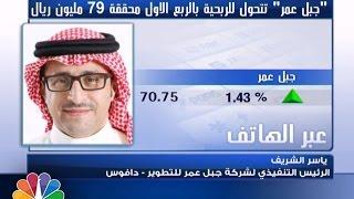 """""""جبل عمر"""" السعودية تتحول للربحية في الربع الاول محققة 79 مليون ريال"""