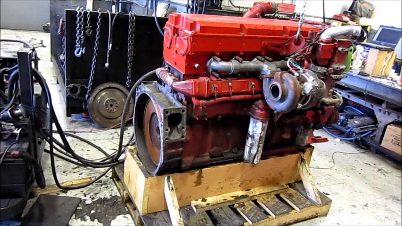 2005 Cummins Isx Egr Diesel Engine Running Youtube