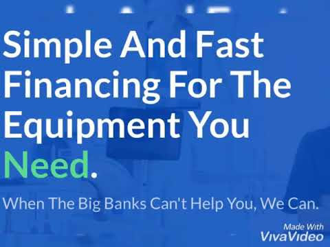 Equipment Financing And Working Capital For Small Businesses