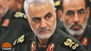 Iran's Top General Killed In US Airstrike, Could 'Put Americans At Risk' | TODAY