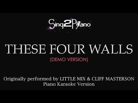 These Four Walls (Piano Karaoke Version) Little Mix