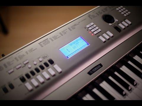 Yamaha YPG235 Portable Keyboard Demo