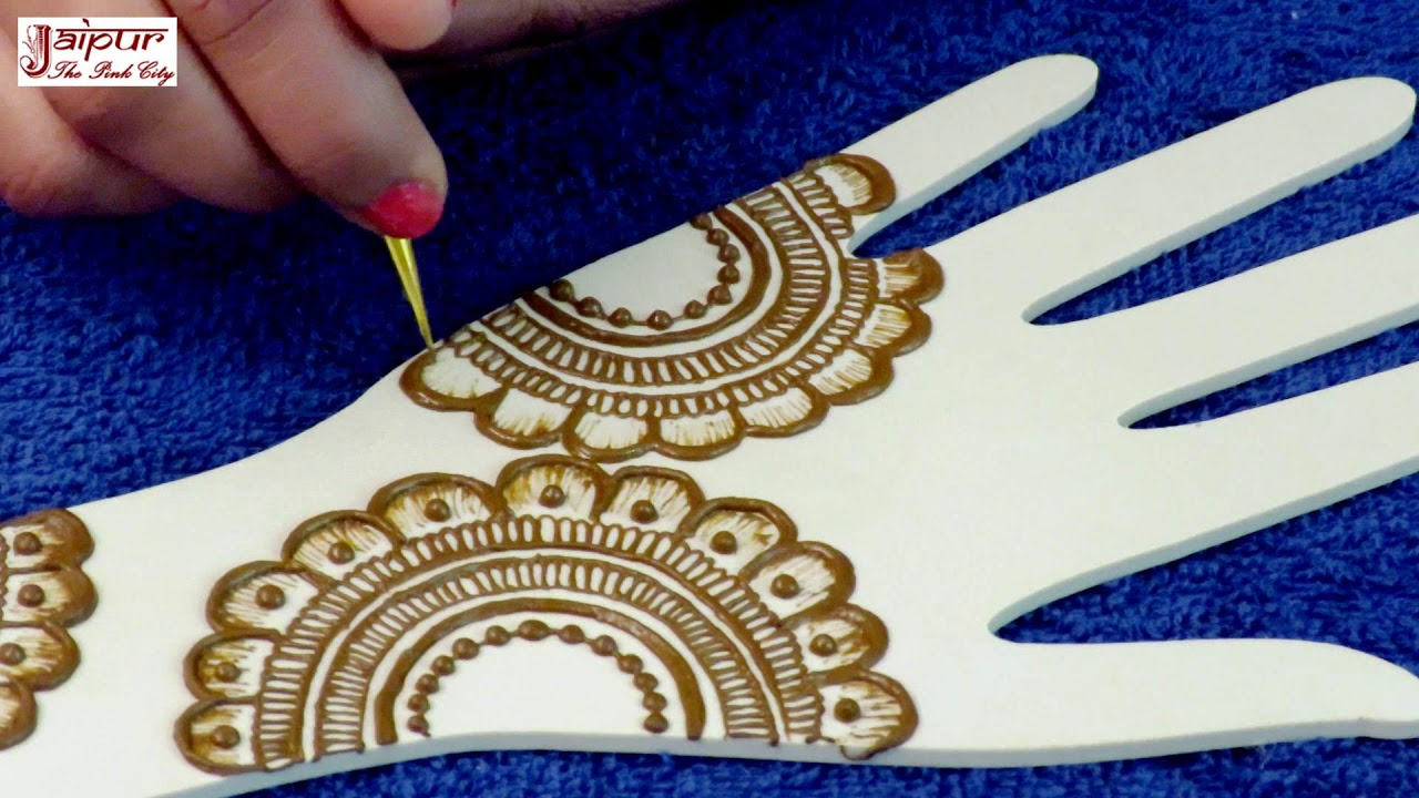 Easy Mehndi Designs For Hands Mehndi Design 2018 By Sonia Goyal