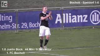 26. Spieltag: 1. FC Bocholt - VfB Speldorf 1:0 (1:0)