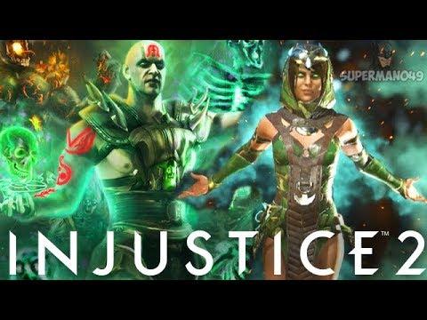 "100% Vortex With Enchantress Epic Quan Chi Ability! - Injustice 2 ""Enchantress"" Gameplay"