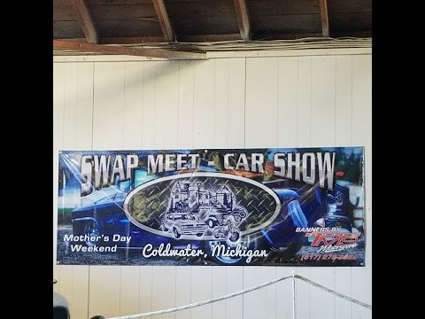 30th Annual Coldwater Swap Meet & Car Show - Car Show Cruise 2017 PT 2 of 2