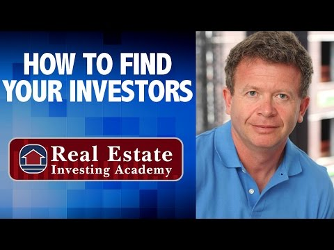 How To Find Private Investors For Real Estate - Peter Vekselman